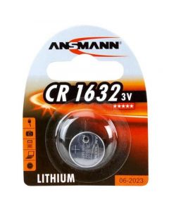 Ansmann CR1632 Lithium Coin Cell Battery | 1 Pack