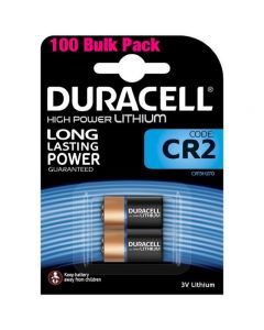 Duracell High Power Lithium CR2 Batteries | 100 Pack