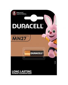 Duracell MN27 A27 12V Battery   1 Pack