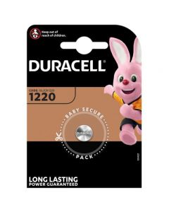 Duracell CR1220 DL1220 Coin Cell Lithium Batteries | 1 Pack
