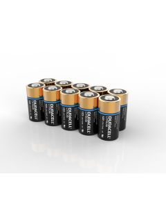 Duracell High Power Lithium DL123 CR123A Batteries | 10 Pack