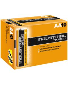 Duracell Industrial (Procell) AA LR6 Batteries | 10 Pack