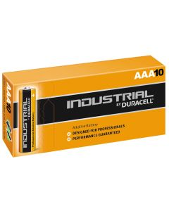 Duracell Industrial (Procell) AAA LR03 Batteries | 10 Pack