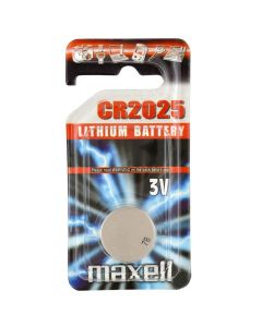 Maxell CR2025 Coin Cell Battery | 1 Pack