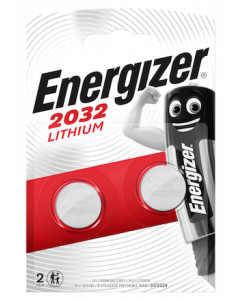 Energizer CR2032 Lithium Coin Cell Batteries | 2 Pack