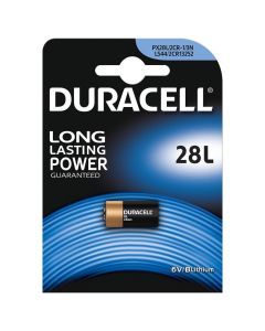 Duracell Ultra PX28L 4LR44 Lithium Batteries   1 Pack