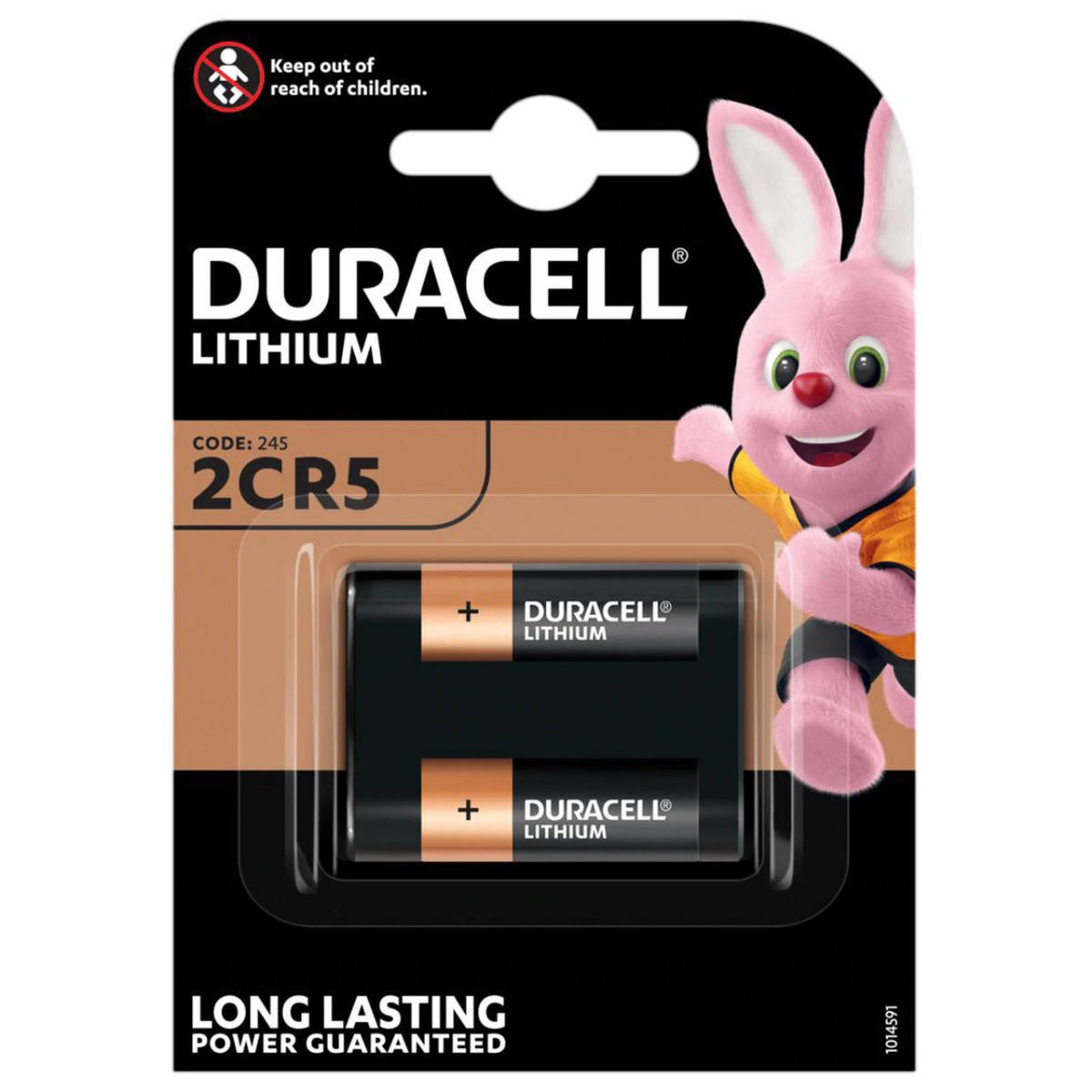 Duracell Lithium DL245 (2CR5) Battery   1 Pack