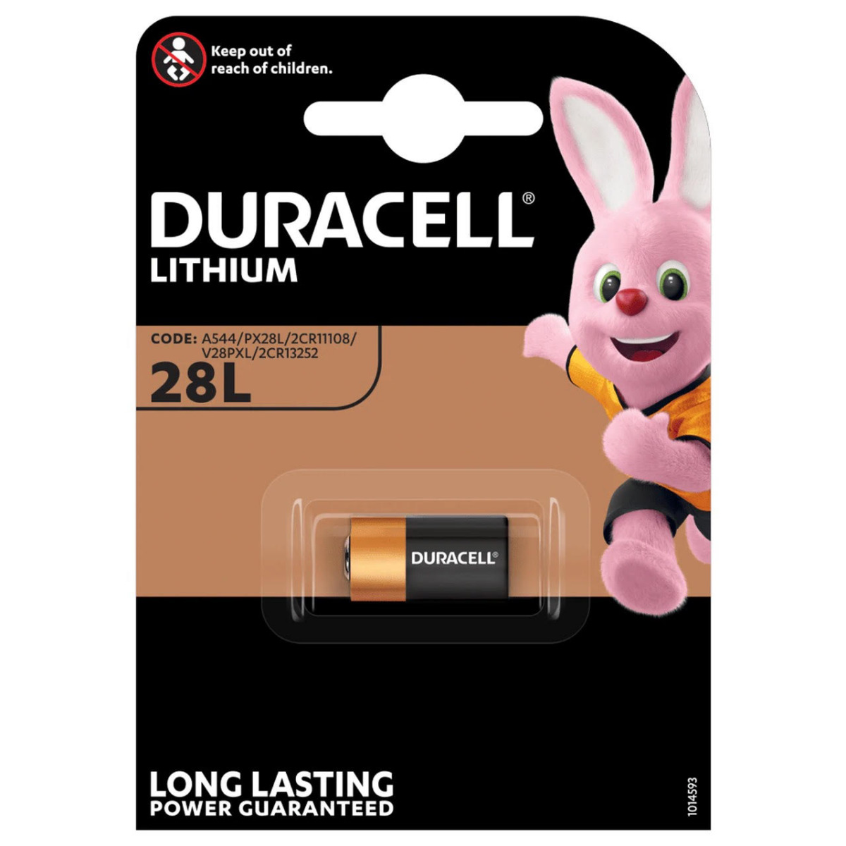 Duracell Ultra PX28L 4LR44 Lithium Batteries | 1 Pack