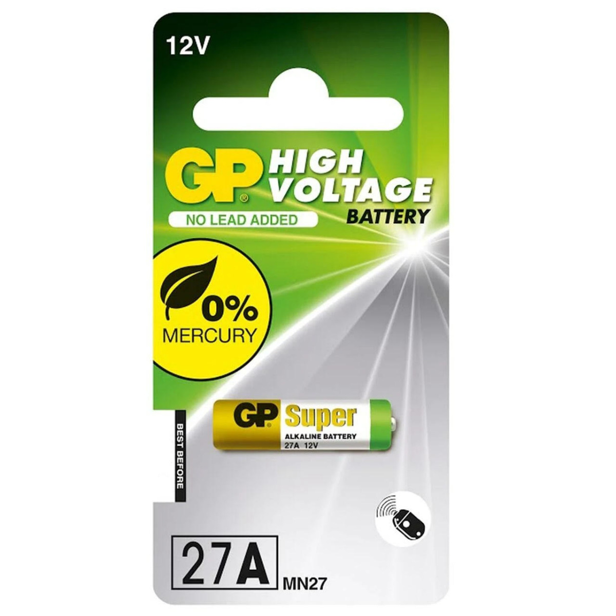 GP 27A A27 MN27 Battery | 1 Pack