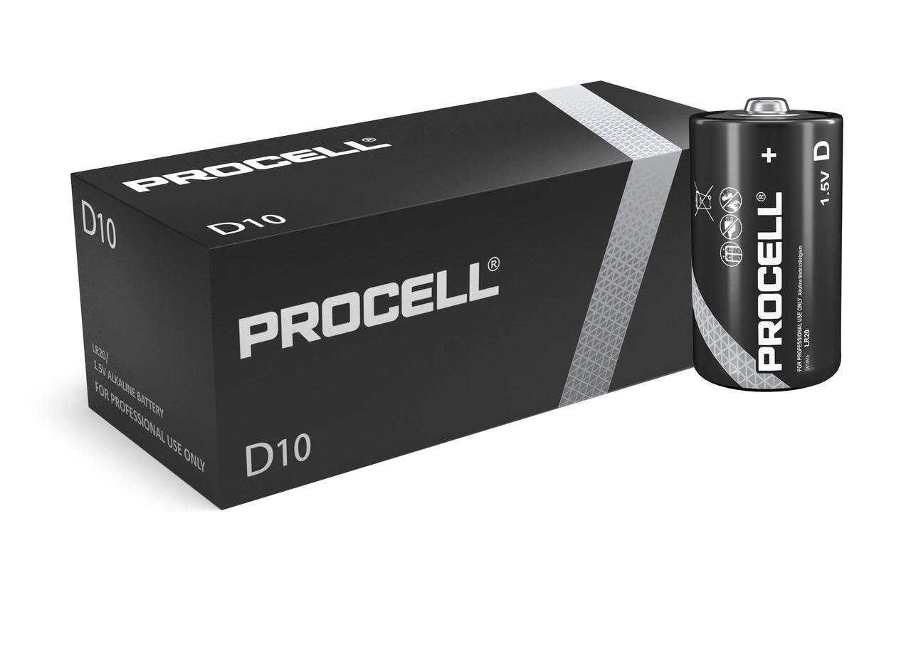 Duracell Procell D LR20 ID1300 Batteries   10 Pack