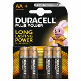 Duracell Plus Power AA LR6 Batteries | 4 Pack