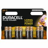 Duracell Plus Power AA LR6 Batteries | 8 Pack