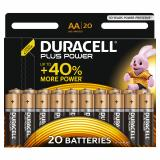 Duracell Plus Power AA LR6 Batteries | 20 Pack