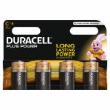 Duracell Plus Power C LR14 Batteries | 4 Pack