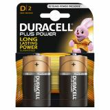 Duracell Plus Power D LR20 Batteries | 2 Pack