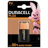 Duracell Plus Power 9V 6LR61 PP3 Battery | 1 Pack