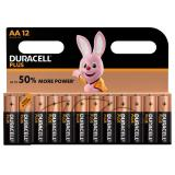 Duracell Plus Power AA LR6 Batteries | 12 Pack