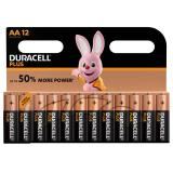 Duracell Plus AA LR6 Batteries | 12 Pack