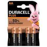 Duracell Plus AA LR6 Batteries | 4 Pack