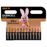 Duracell Plus AAA LR03 Batteries | 12 Pack